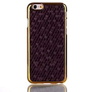 """Grey Football Grain Leather Coated Hard Case Cover for - Iphone 6 4.7"""" Inch"""