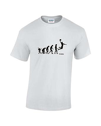4dea9209df86 T-shirt évolution de l'homme vers le basketball: Amazon.fr: Vêtements et  accessoires