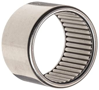 Koyo B-1816 Needle Roller Bearing, Full Complement Drawn Cup, Open, Inch,  1-1/8