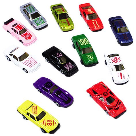 Miniature Toy Cars (Stock Cars Novelty Toys(12 per)