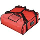 Rubbermaid PROSERVE Pizza Delivery Bag 18''L x 18''W x 5 1/4''H Holds 2 16'' Pizzas - HUB-66942