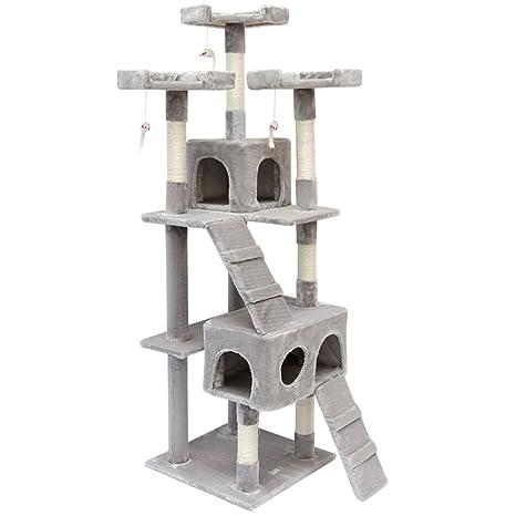 Eyepower Árbol Rascador para Gatos Julia Altura Aprox 170cm | Torre para afilarse Las Garras trepar