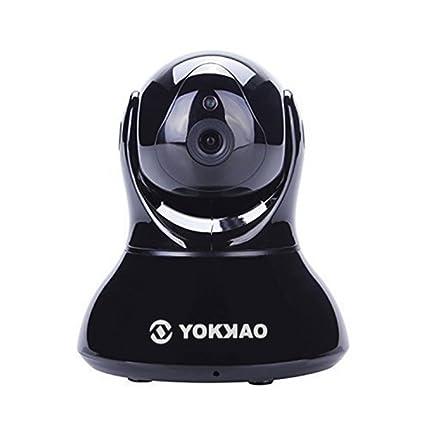 Videocámara de Vigilancia inalámbrica Yokkao®, Cámara IP de seguridad WIFI 720p HD 5x Zoom