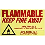 Eagle C-97 Flammable Keep Fire Away Decal