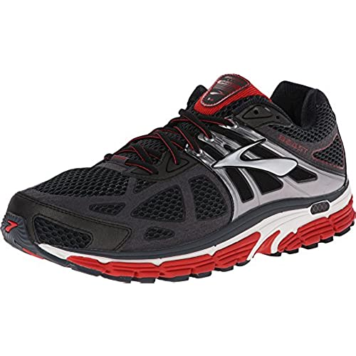 Brooks Men's Beast 14 Mars/Anthracite/Silver Sneaker 9 4E - Extra Wide