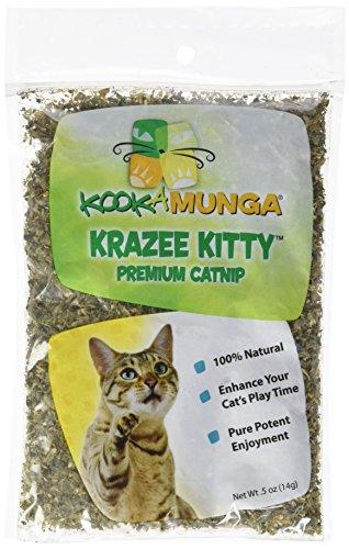 Kookamunga Krazee Kitty Premium Catnip, 0.5 ounces (M6100)
