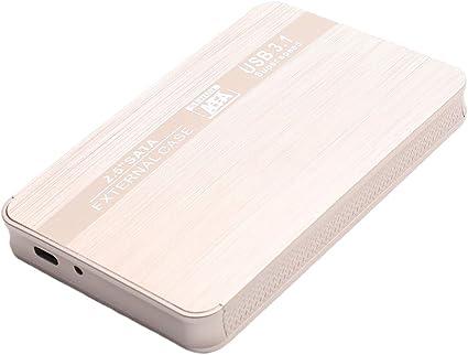 TISHITA 500 GB / 1T / 2Tモバイル外付けハードドライブHDD TYPE-C PCコンピューターゴールデン - 2TB