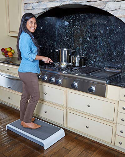 Cooking Stage | Kitchen Step Stool | Bed Step | Stove Step | 4.2 inch Step | Medium L32 X W16 X H4.2-10 lbs. | Advanced Polymer