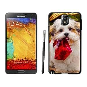 Personalization Christmas Dog Black Samsung Galaxy Note 3 Case 11