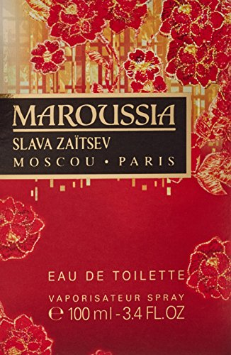 Maroussia By Slavia Zaitsev For Women. Eau De Toilette Spray 3.4 Ounces