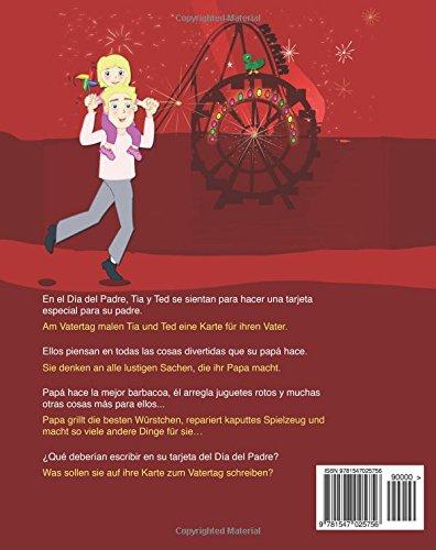 Spanisch kinderbuch: Mein Papa ist der Beste: Zweisprachiges Kinderbuch ab 3 - 6 Jahren (Deutsch - Spanisch), bilingual spanisch deutsch, ...