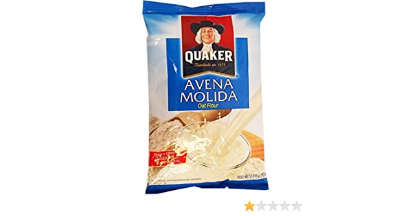 Amazon.com : Quaker Ground Oats 10.9 oz - Avena Molida (Pack of 5) : Grocery & Gourmet Food