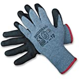 12 Pairs of Working Gloves Size 10 Latex Gloves Goatskin