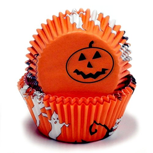 Cupcake For Halloween (Chef Craft 50 Count Cupcake Liners,)