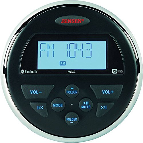 (Jensen MS3ARTL AM/FM/USB/Bluetooth Compact 3.5