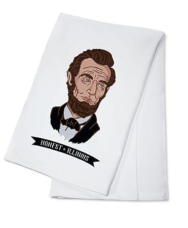 Ehrlich Illinois Abraham Lincoln Symbol 100 Baumwolle
