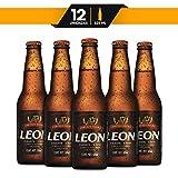 Cerveza Obscura León Chaparra 12 Botellas de 325ml c/u