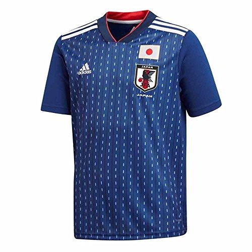 adidas 2018-2019 Japan Home Football Soccer T-Shirt Jersey (Kids)