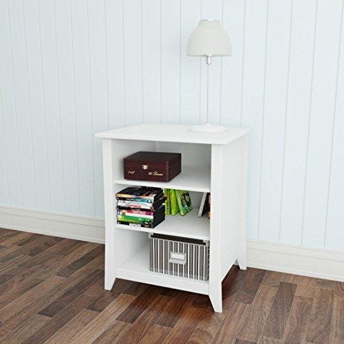 Stereo Component Furniture (Nexera Vice Versa Stereo Cabinet 201003, White)