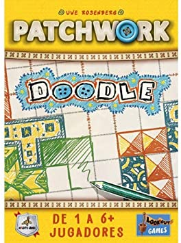Maldito Patchwork Doodle - Juego de Mesa [Castellano]: Amazon.es ...