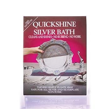 Quickshine Silver Clean And Shine Bath