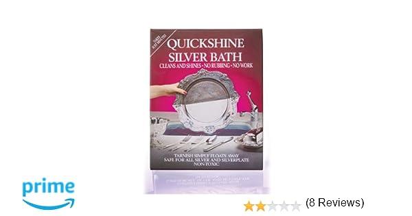 Quickshine Silver Bath - Producto para limpiar la plata: Amazon.es: Hogar