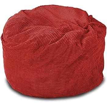Amazon Com Lounge Amp Co Corduroy Round Foam Chair 36 Inch