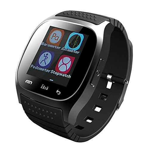 DOESIT Bluetooth Smart Watch for Android Smartphones Samsung Galaxy Note,Nexus,htc,Sony (M26 Smart Watch)