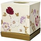 Popular Home Tissue Box, Dahlia Collection, Rose