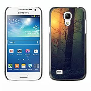 Hot Style Cell Phone PC Hard Case Cover // M00102460 forests nature mist // Samsung Galaxy S4 Mini i9190