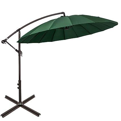 Nice Sundale Outdoor 9ft Aluminum Offset Patio Umbrella With Crank And Cross Bar  Set, Cantilever Umbrella