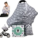 Car seat Canopy Nursing Cover - Multi use Baby Stroller...