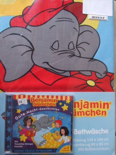 Benjamin Blümchen Bettwäsche Wende Bettwäsche Mit Hörspiel Cd Nr
