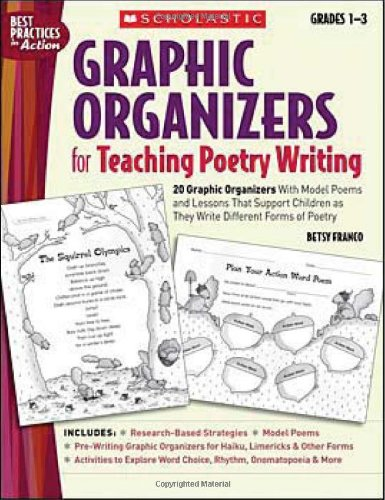 Graphic Organizers for Teaching Poetry Writing: 20 Graphic Organizers With Model Poems and Lessons That Support Children as They Write Different Forms of Poetry (Best Practices in Action)