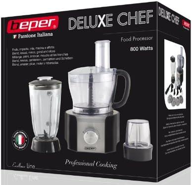 Robot de cocina Deluxe Chef Beper 90.314: Amazon.es