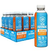 Vital Performance Recover Drink, 6g EAA, 4g BCAA,14g Collagen, NSF for Sport Certified, Low-Sugar...