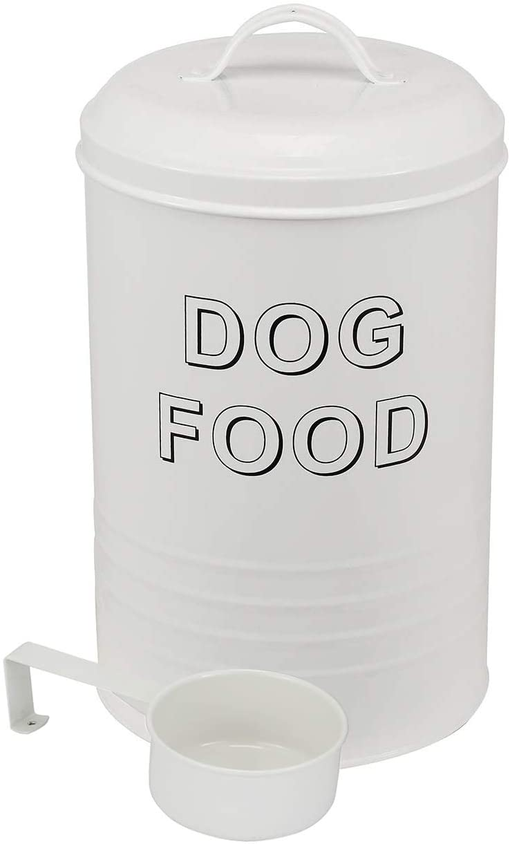 Dog Food Container - Pets Good Dog Food Storage Canister, 4lbs Capacity - Scoop Included