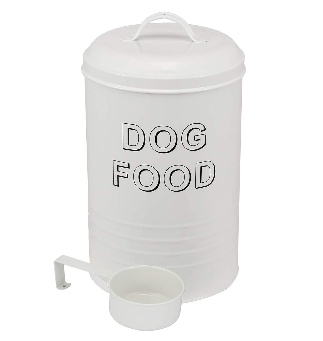 Dog Food Container - Pets Good Dog Food Storage Canister, 7lbs Capacity - Scoop Included