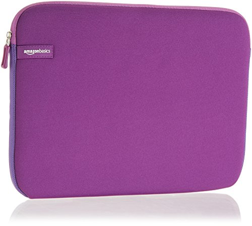 AmazonBasics 13 3 Inch Laptop Sleeve Purple