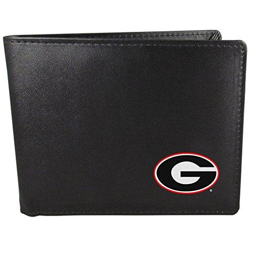 Siskiyou NCAA Georgia Bulldogs Bi-Fold Wallet, Black