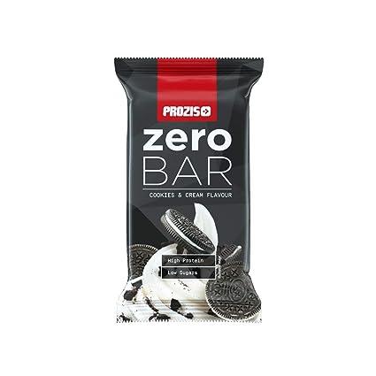 Zero Bar 40 g - Bajo contenido en azúcares Brownie de dulce de leche