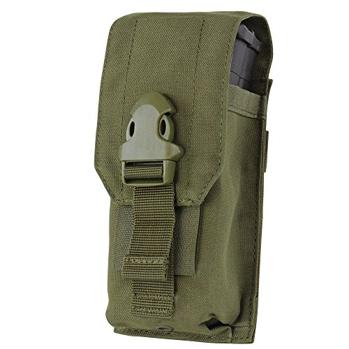 Condor Universal Rifle Magazine Mag Pouch 191128 (OD Green) (Mag G36 Pouch)