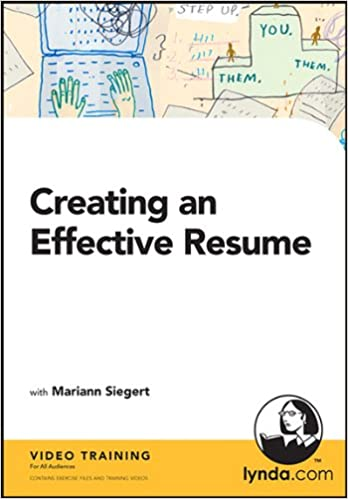 Attractive Creating An Effective Resume: Mariann Siegert: 9781596717251: Amazon.com:  Books