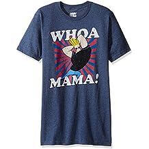T-Line Men's Johnny Bravo Whoa Mama Graphic T-Shirt