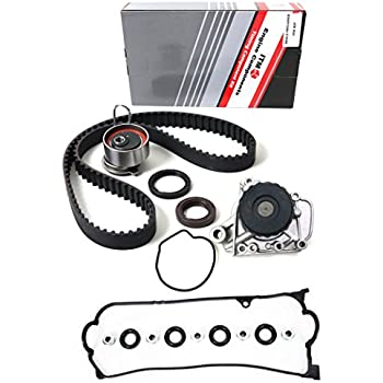 NEW ITM312WPVC (104 teeth) Timing Belt Seals Kit, Water Pump, & Valve Cover Gasket Set for 01-05 Honda Civic 1.7L D17A