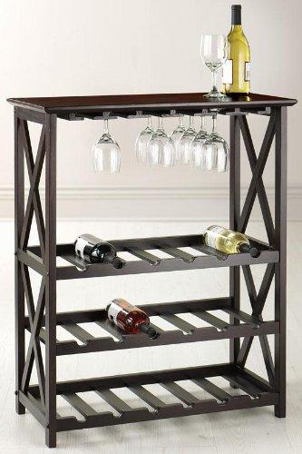 crate and barrel wine rack - 2