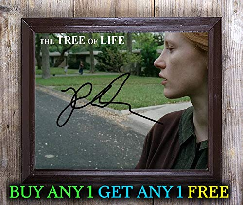 Tree Life Film Cast Autographed Signed 8x10 Photo Reprint #50 Special Unique Gifts Ideas Him Her Best Friends Birthday Christmas Xmas Valentines Anniversary Fathers Mothers Day