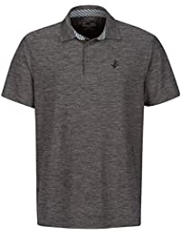 Men's Dry Fit Polo Shirt, Athletic Short-Sleeve Collared Golf Shirt (Laundry Bag Included)