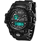 Electronic Sports Watches - Functional Digital Watch with LED Backlight Display Date Week and Time
