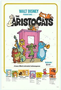 Aristocats Movie Poster 27 94 X 43 18 Cm Amazon De